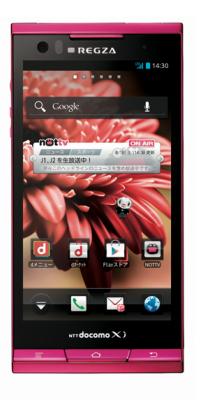 REGZA Phone T-02D